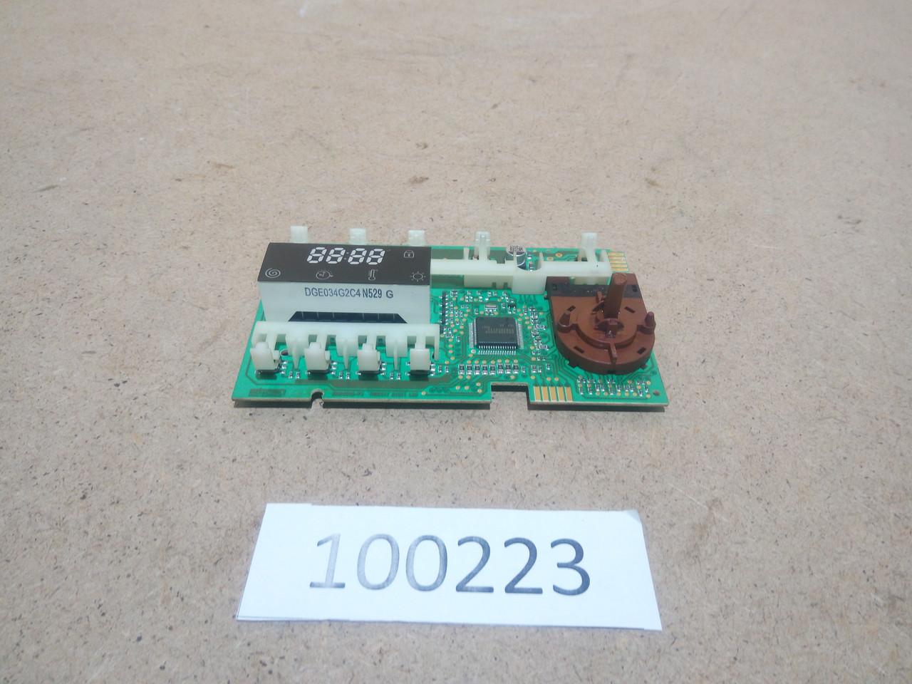 Модуль індикації Indesit. 210096233.03, 30410284 Б/У