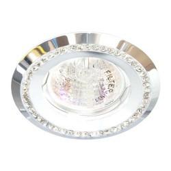 Вбудований світильник Feron DL103-W білий прозорий