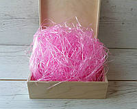 Наполнитель для коробок розовый  40г