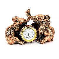 Сувениры слоники настольные часы ES591