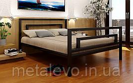 Металлическая кровать с изножьем БРИО-2 полуторная, 140х190