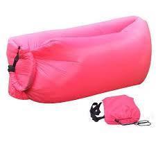 Ламзак - надувной шезлонг диван мешок Lamzak Розовый