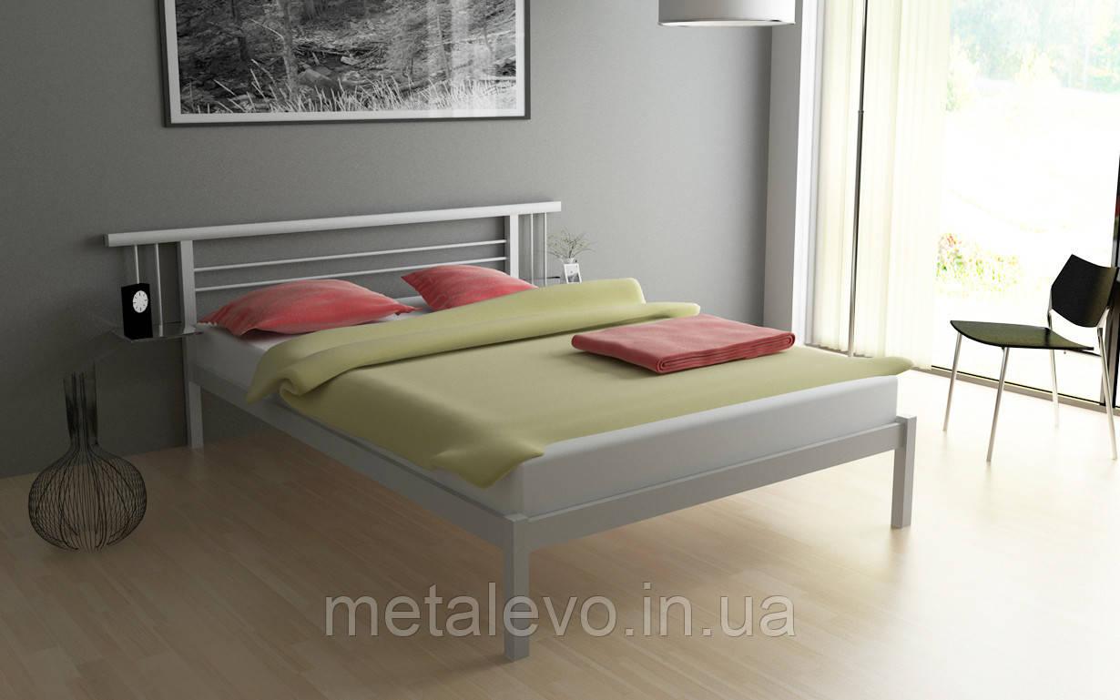 Двуспальная кровать металлическая АСТРА (ASTRA)  ТМ Метакам
