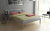 Двуспальная металлическая кровать АСТРА (ASTRA) 160х200