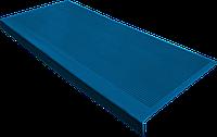 Накладка на ступеньку резиновая противоскользящая 75*33*0,3 см (синяя)