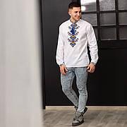 Сорочка - оберег для мужчин с длинным рукавом Судьба