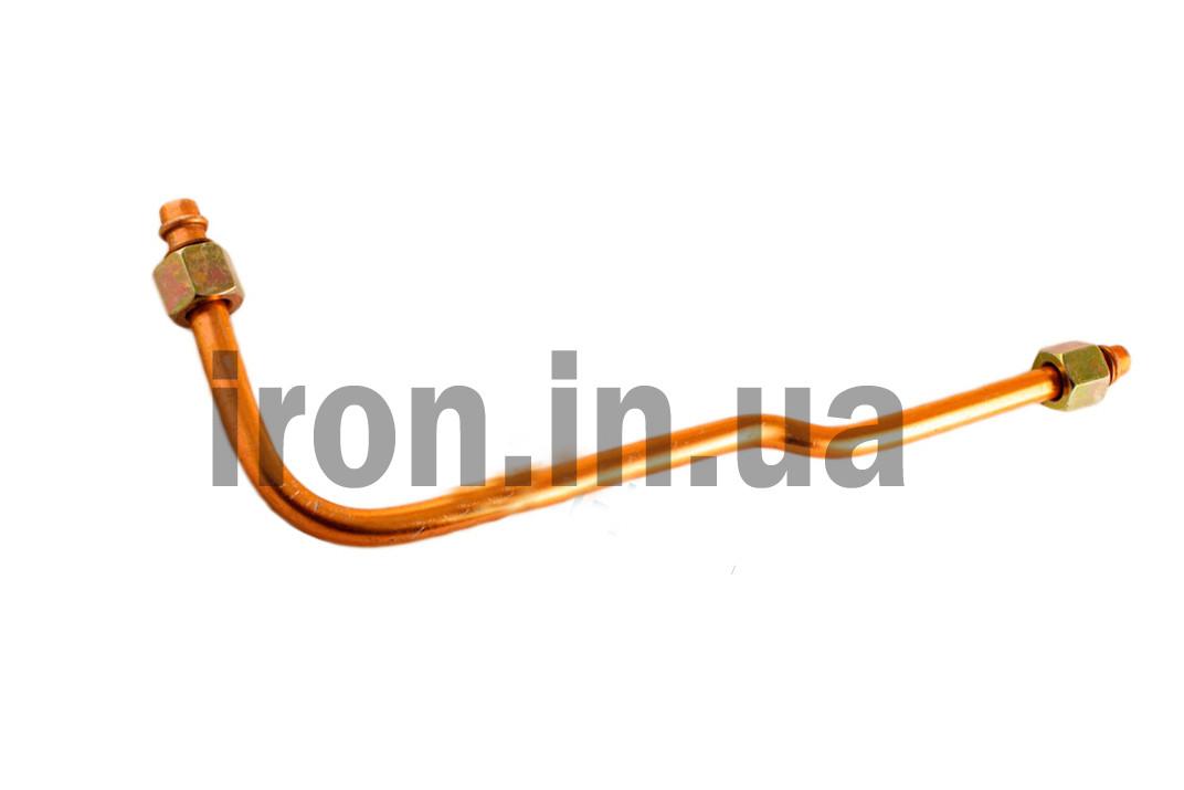 Трубка воздушная компрессора-прессостата 355мм гайка 3/8*3/8