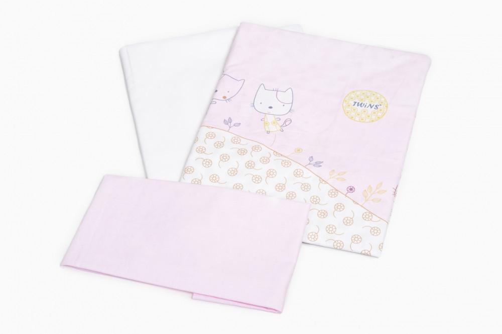 Сменная постель Twins Comfort C-033 розовые котята (расцветки в ассортименте)