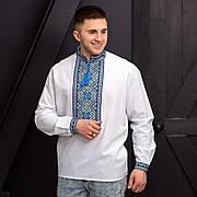 Вышитая мужская сорочка с длинным рукавом Тарас