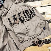 "Карго шорты с ремнём ""LEGION"" Beige, фото 4"