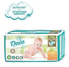 Подгузники Dada Extra Soft 3 (54 шт) от 4 до 9 кг