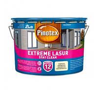 Pinotex Extreme Lasur 10л - Самоочищающееся лазурное деревозащитное средство Пинотекс экстрим лазурь