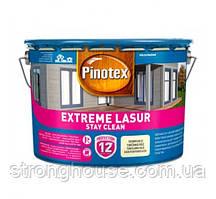 Pinotex Extreme Lasur 10л - Самоочисне лазурне деревозахистний засіб Пинотекс екстрим лазур