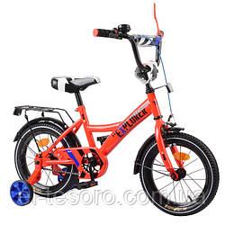 Велосипед EXPLORER 14 T-21417 red