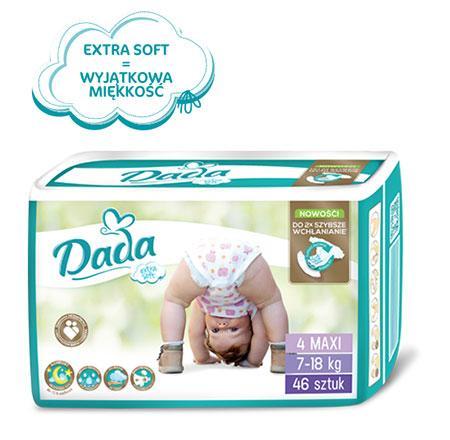 Dada Extra Soft 4(46 шт) от 7 до 18 кг