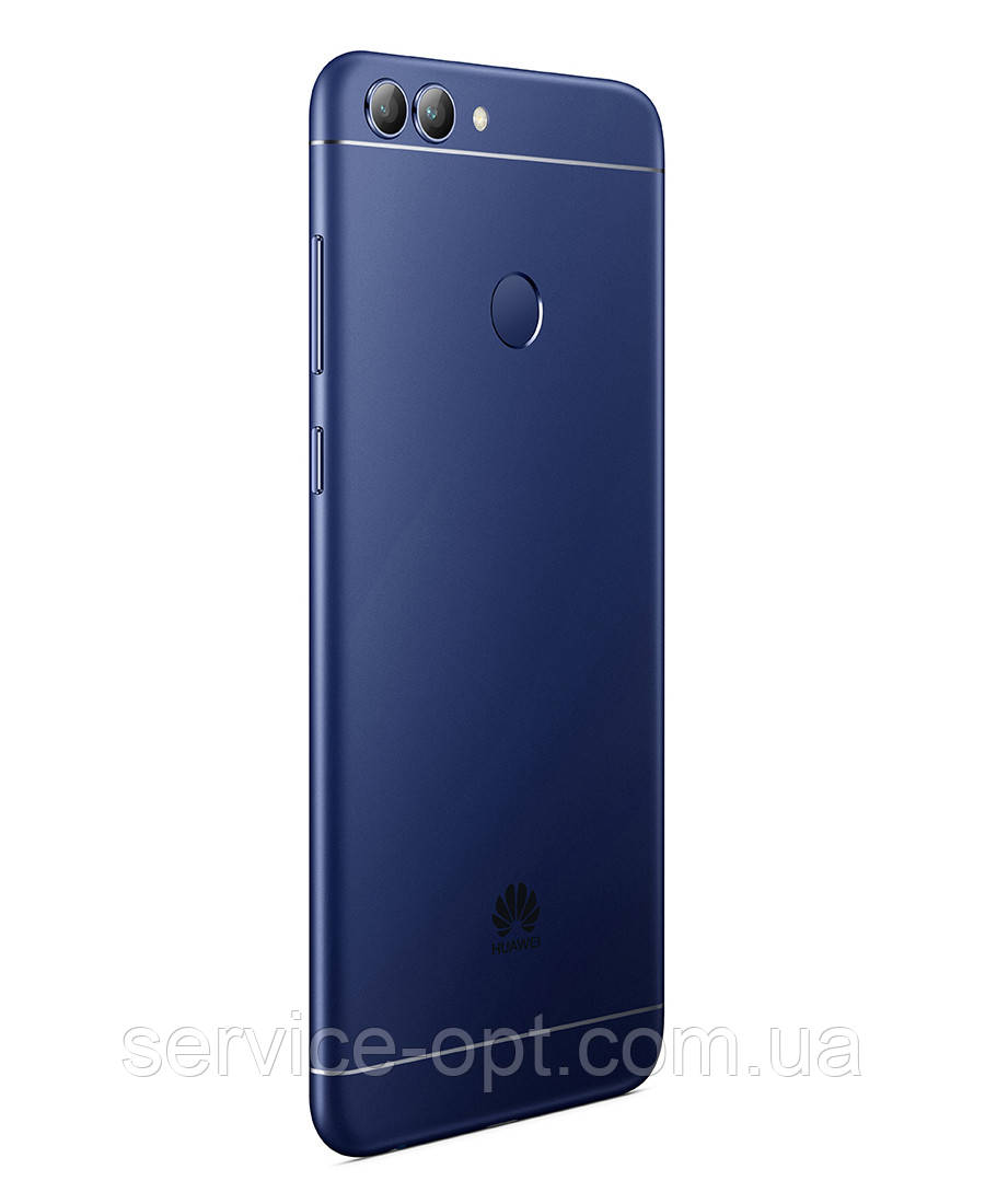 Задняя крышка Huawei P Smart (FIG-LX1, FIG-LX2, FIG-LX3, FIG-LA1), Enjoy 7s синяя