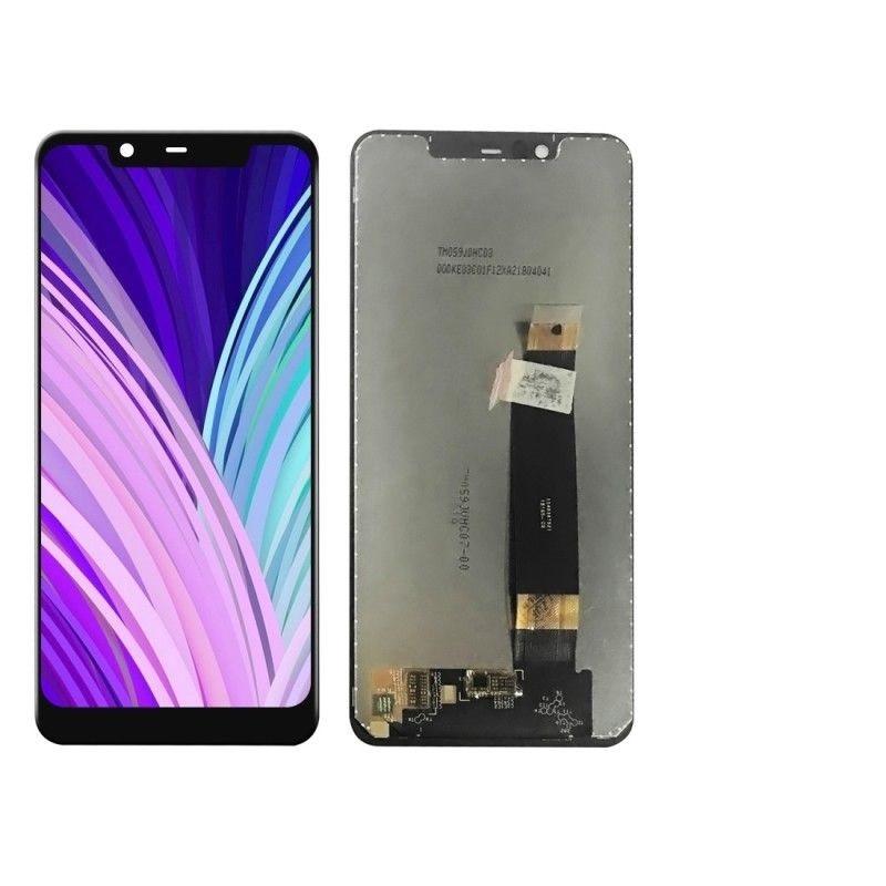 Дисплей Nokia 5.1 Plus, X5 (2018) + сенсор чёрный
