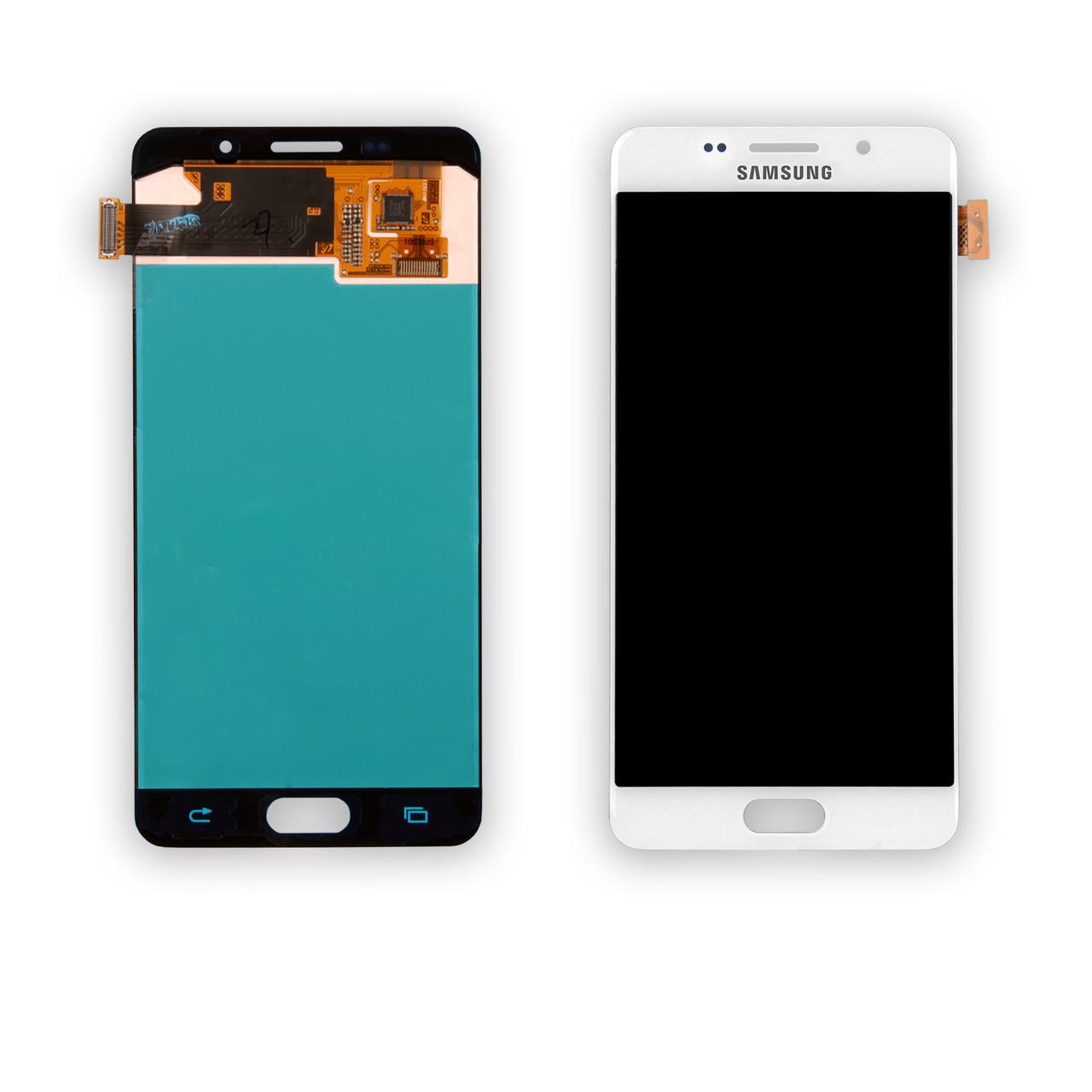Дисплей Samsung A510 Galaxy A5 (2016) (OLED) + сенсор белый