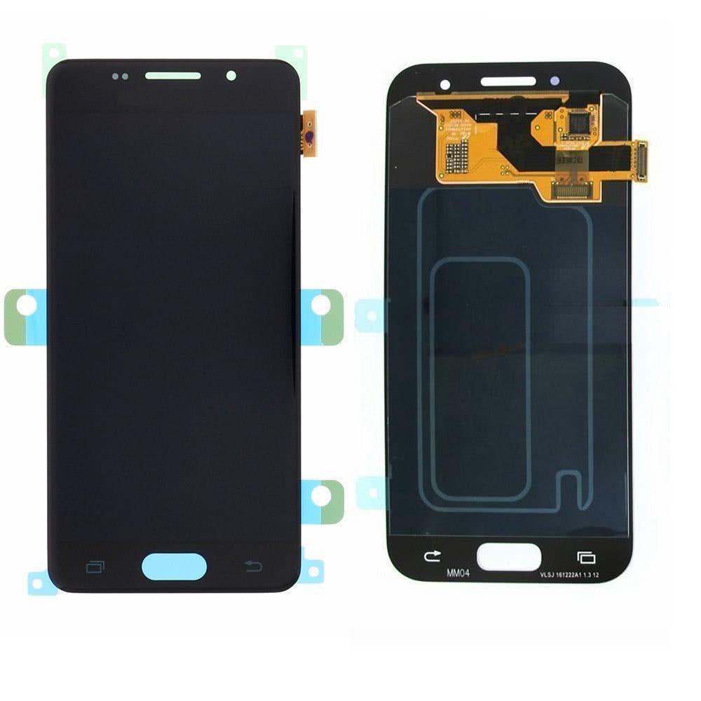 Дисплей Samsung A720 Galaxy A7 (2017) OLED + сенсор чёрный