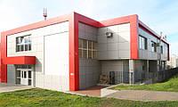 Вентилируемые фасады из алюминиевого композита