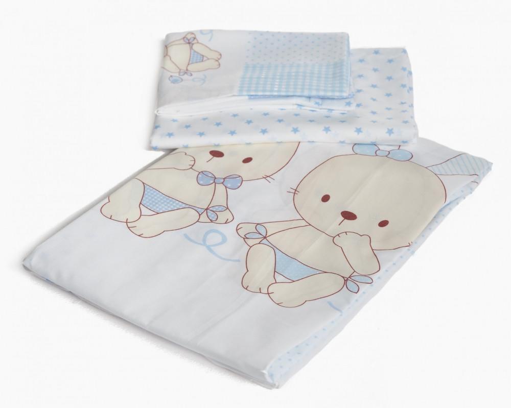 Сменная постель Twins Dolce D-003 Friend голубой 3 элем (расцветки в ассортименте)