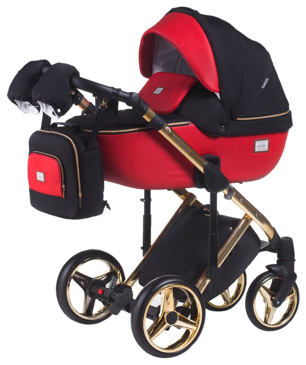 1f9a46766f0 Универсальная детская коляска 2 в 1 Adamex Luciano Polar (Gold) -  MaMalush.com