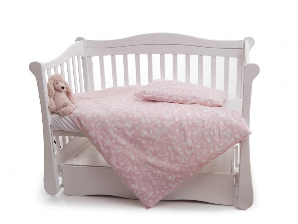 Сменная постель Twins Dolce Лесные жители D-013 розовый