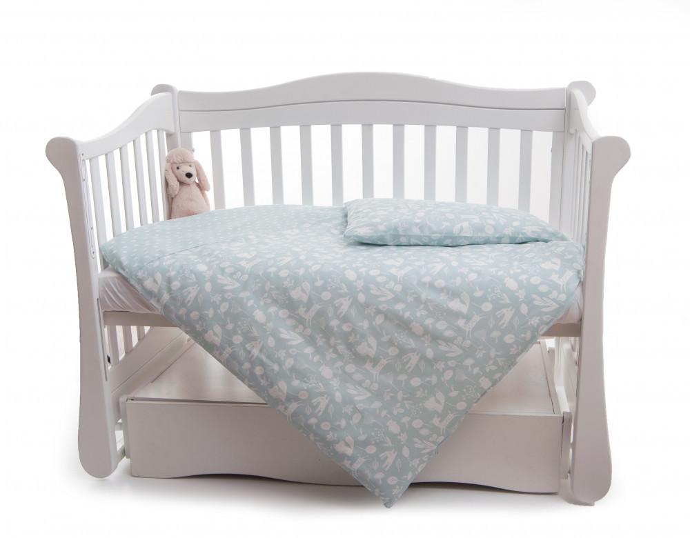 Сменная постель Twins Dolce Лесные жители D-012 мятный