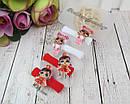 Набор детских резиночек для волос куколки LOL 6 набор/уп, фото 4