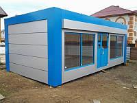 МАФы с фасадами из алюминиевого композита