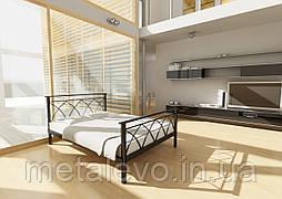 Металлическая кровать с изножьем ДИАНА -2 ТМ Метакам