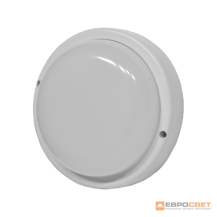 Светильник светодиодный накладной ЕВРОСВЕТ 8Вт круг CL-305 6400K IP65