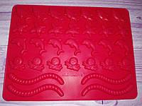 Силиконовая форма Дельфин для желейных, мармеладных, шоколадных конфет