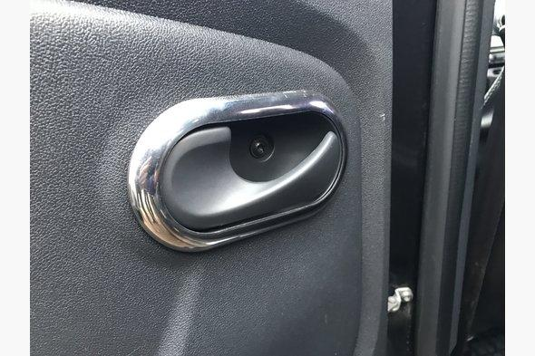 Накладки на внутренние ручки (4 шт, нерж.) Renault Duster 2008-2017 гг.
