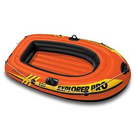 Одноместная надувная лодка Intex 58355 Explorer Pro 100 отличный подарок