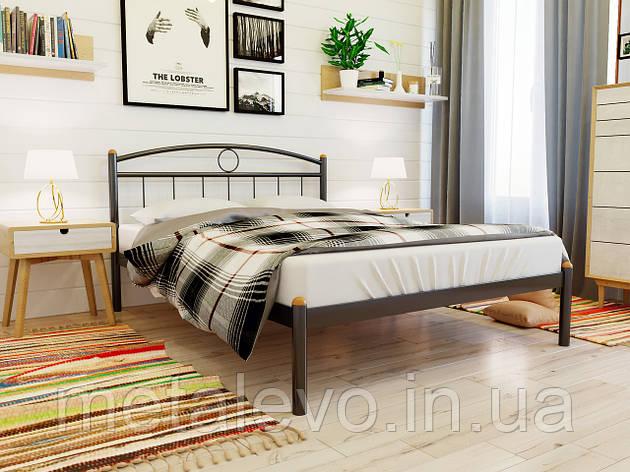 Кровать металлическая  ИНГА (INGA)  ТМ Метакам, фото 2