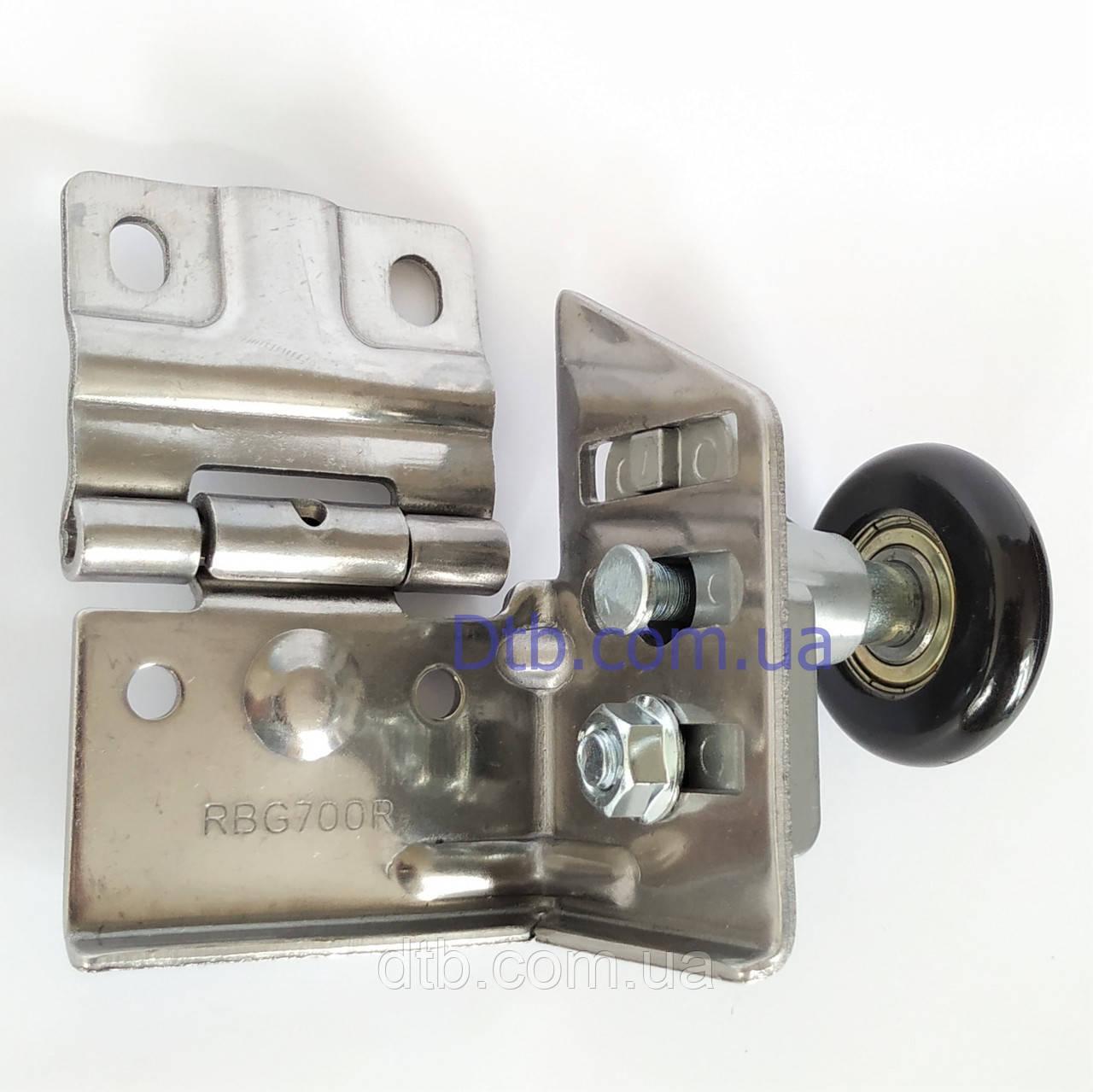 Кронштейн с роликом RBG700R-SS нержавеющий для ворот Alutech