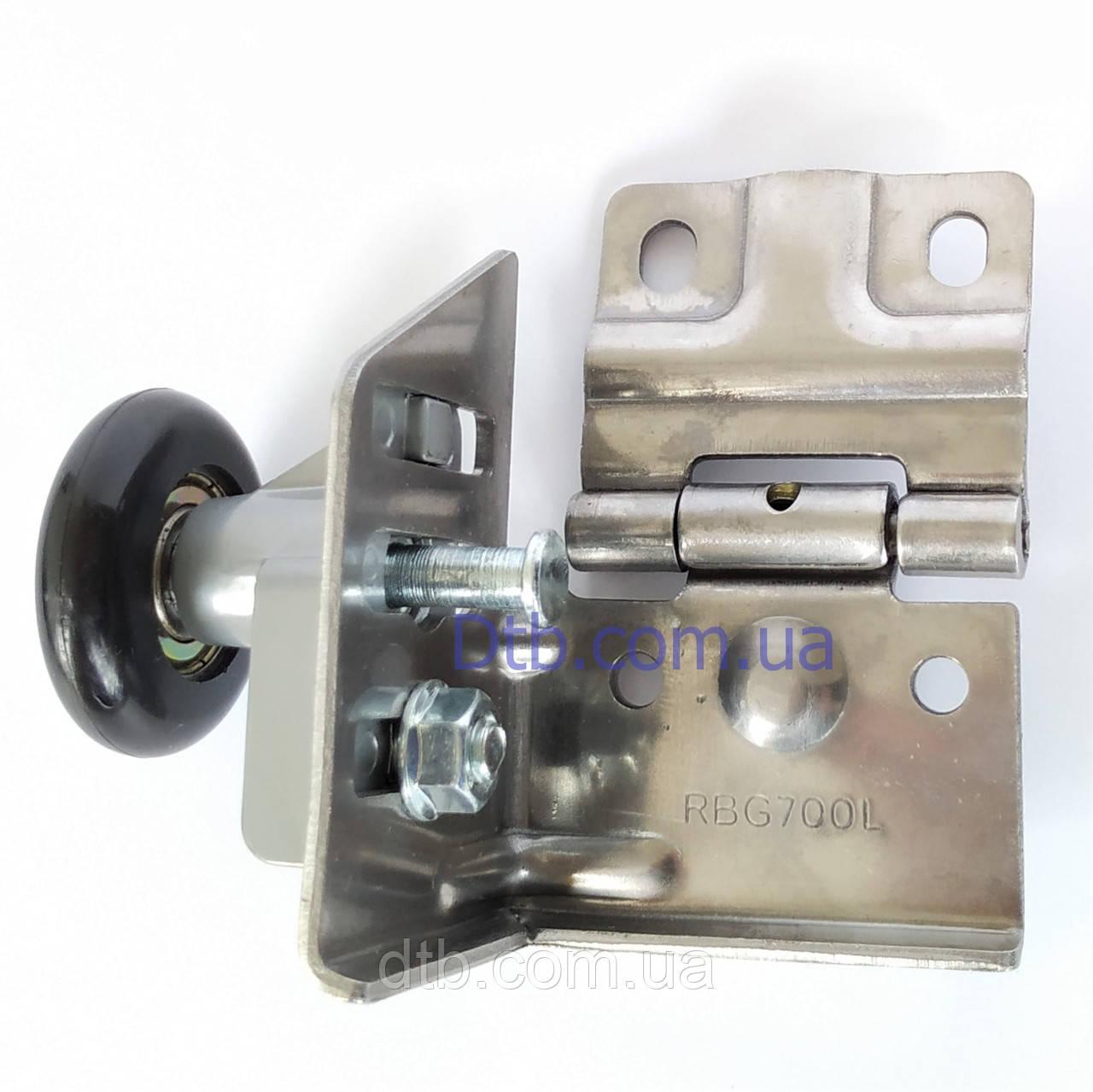 Кронштейн с роликом RBG700L-SS нержавеющий для ворот Alutech