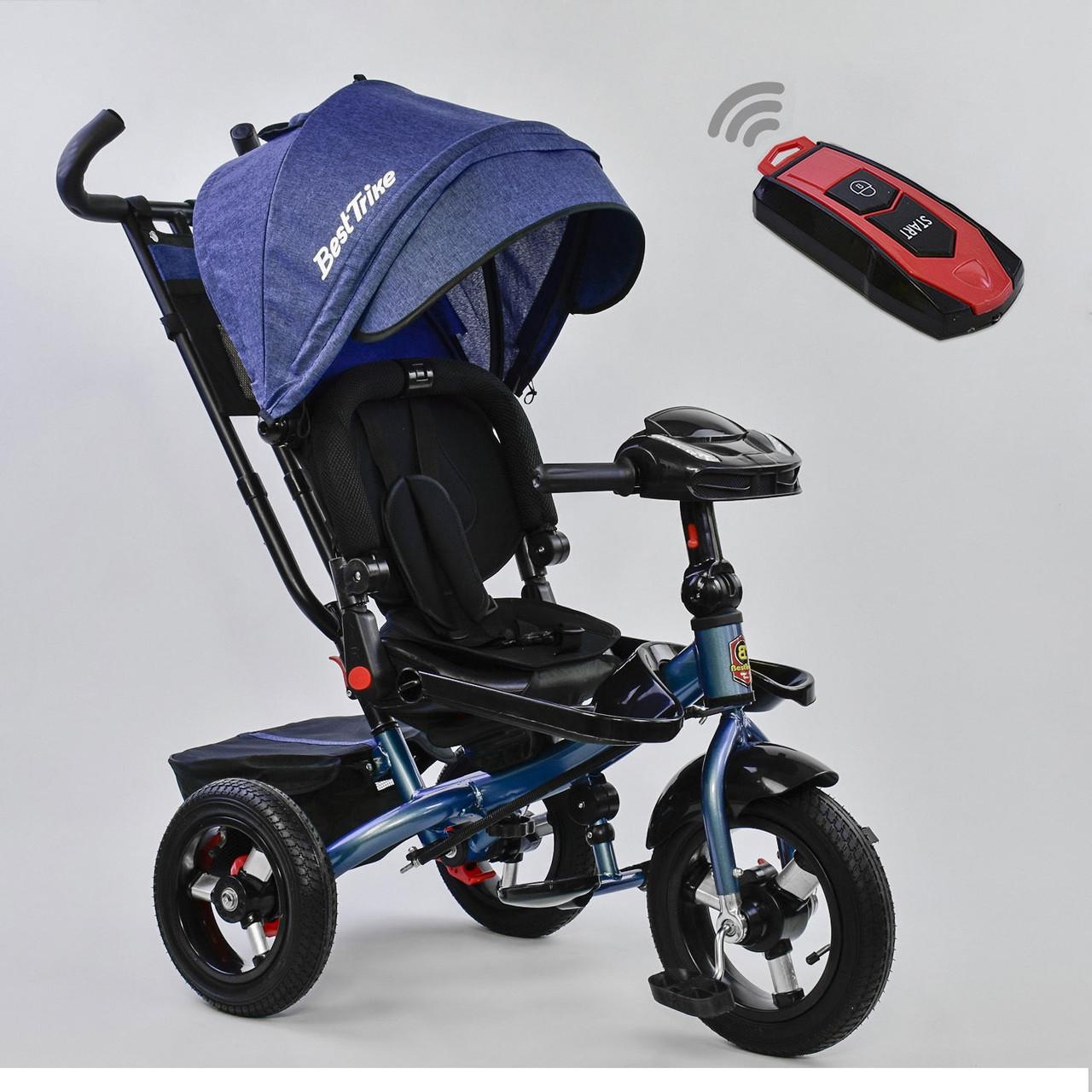 Трехколесный детский велосипед Best Trike 6088 F- 1560 синий