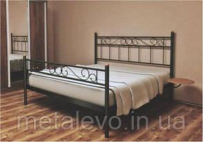 Металлическая кровать с изножьем ЭСМЕРАЛЬДА -2, фото 2