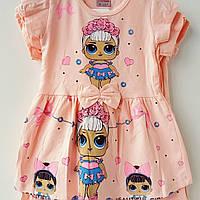 """Платье для девочки """"LOL"""". 2-6 лет"""