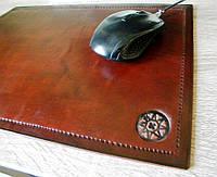 Кожаный коврик для мыши, фото 1