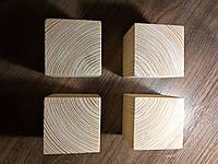 Деревянные кубики 5см, сосна