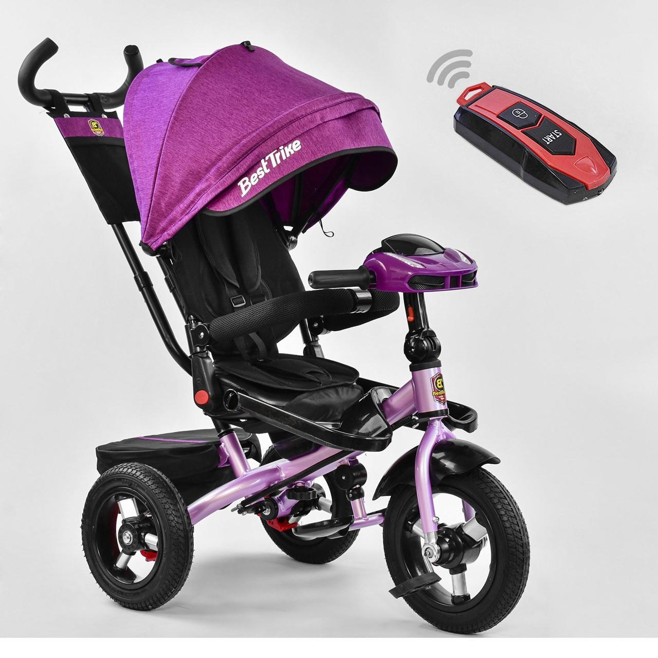 Трехколесный детский велосипед Best Trike 6088 F - 2001 Фиолетовый