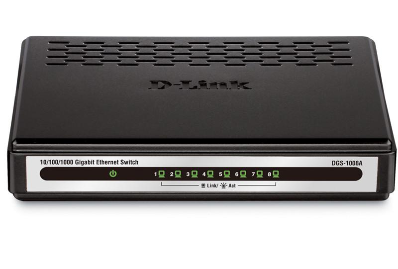 Комутатор D-Link DGS-1008A (8 портів) бо