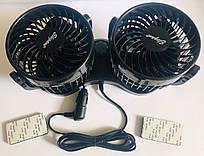 Подвійний вентилятор 12В по 10см Elegant Maxi EL 101 545