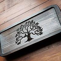 Маленький чайный стол Lignum Vitae (Mini) Чабань для церемонии 38*16*6 см