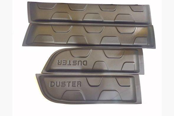 Молдинги (4 шт, пластиковые) Renault Duster 2008-2017 гг.