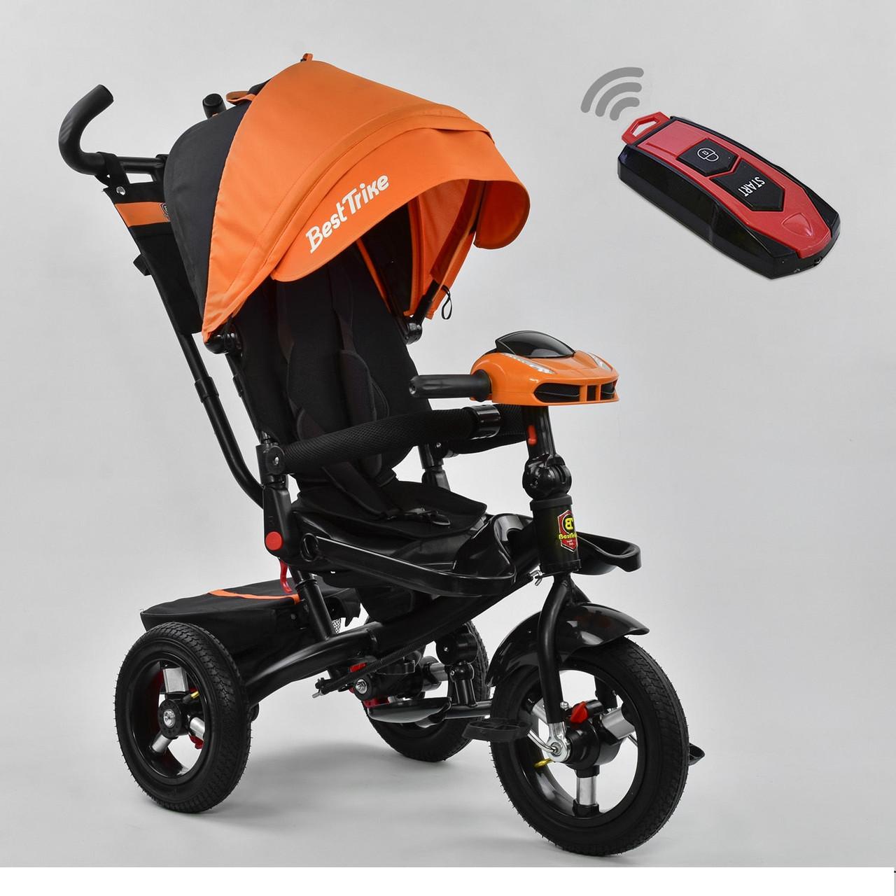 Трехколесный детский велосипед Best Trike  6088 F - 3020