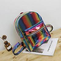 Рюкзак блестящий детский